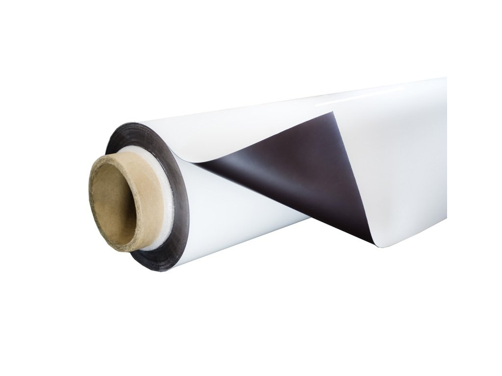 Kovová-samolepicí flexibilní bílá tabule
