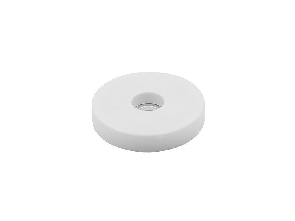 4550 1 neodymovy pogumovany magnet se stredovou dirou