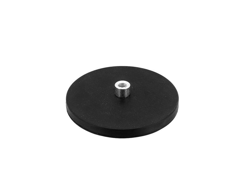 Neodymový pogumovaný magnet se závitovým pouzdrem