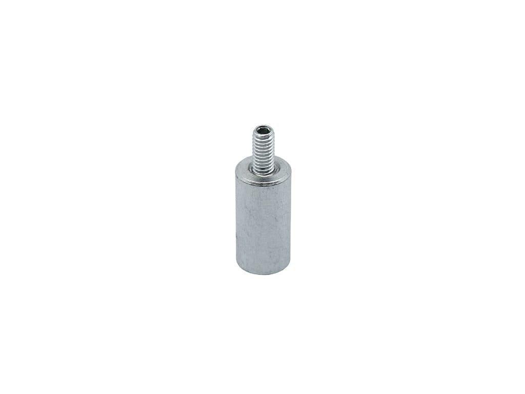 AlNiCo magnetická čočka válcová s vnějším závitem 10x20 mm