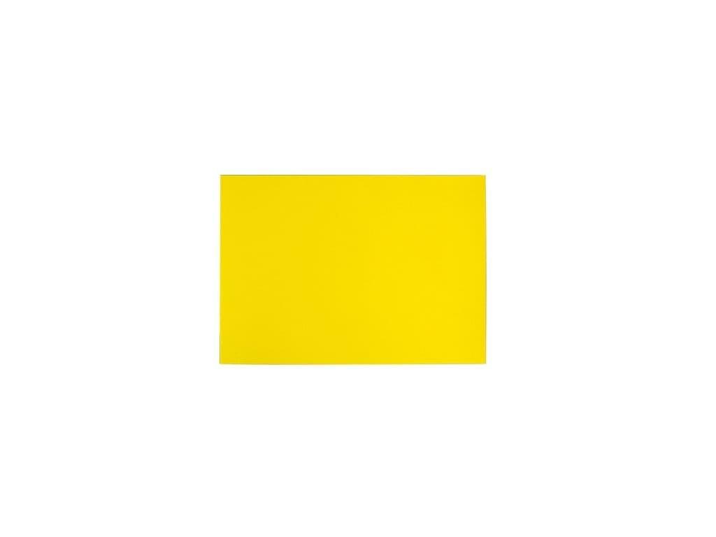 Magnetická fólie – žlutá – řezaná