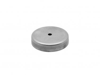 Feritová magnetická čočka nerezová se středovou dírou 63x6.5x14 mm