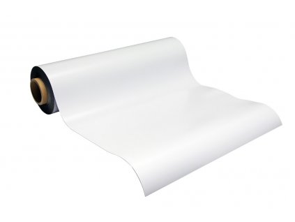Magnetická fólie bílá lesklá (0,5 mm)
