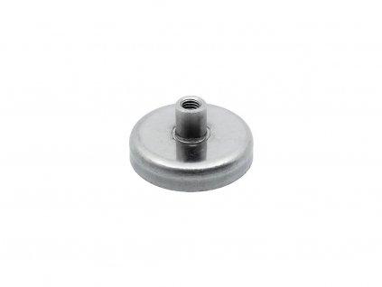 Feritová magnetická čočka nerezová se závitovým pouzdrem